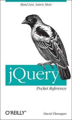 jQuery Pocket Reference (Paperback)