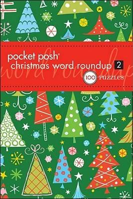 Pocket Posh Christmas Word Roundup 2: 100 Puzzles (Paperback)