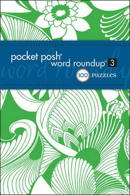 Pocket Posh Word Roundup 3: 100 Puzzles (Paperback)