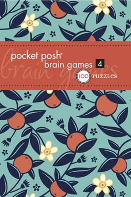 Pocket Posh Brain Games 4 (Paperback)
