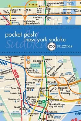 Nyc Subway Map Puzzle.Pocket Posh New York Sudoku 100 Puzzles Paperback