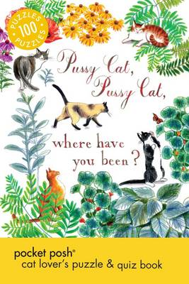 Pocket Posh Cat Lover's Puzzle & Quiz Book: 100 Puzzles (Paperback)