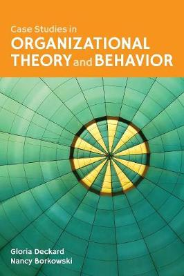 Case Studies In Organizational Behavior And Theory For Health Care (Paperback)