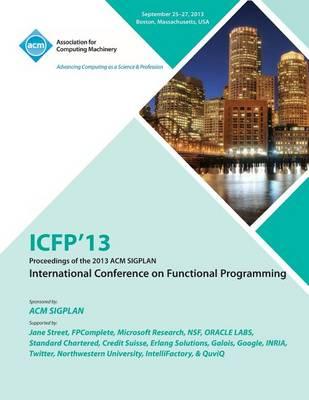 Icfp 14 19th ACM Sigplan International Conference on Functional Programming (Paperback)