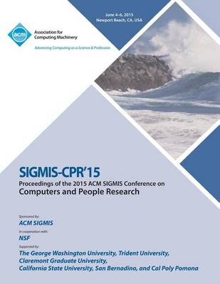 Sigmis CPR 15 Computer and People Research (Paperback)