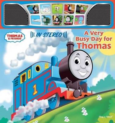 A Very Busy Day for Thomas - Stereo Sound Book (Board book)
