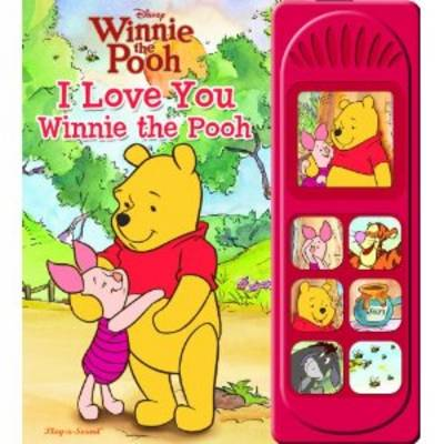 Disney Winnie the Pooh: I Love You Winnie the Pooh - Little Sound Books (Hardback)