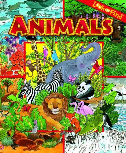 Animals - Look and Find (Hardback)