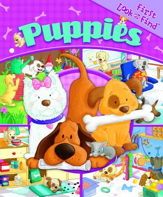 Puppies - My First Look & Find (Board book)