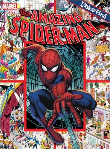 The Amazing Spider-Man - Look and Find (Hardback)