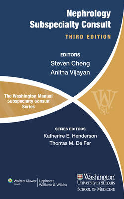 The Washington Manual of Nephrology Subspecialty Consult (Paperback)