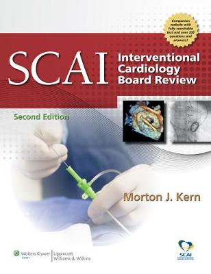 SCAI Interventional Cardiology Board Review (Hardback)