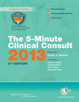 The 5-minute Clinical Consult 2013 (Hardback)