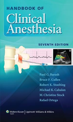 Handbook of Clinical Anesthesia (Paperback)