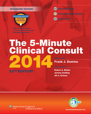 The 5-Minute Clinical Consult 2014 - The 5-Minute Consult Series (Hardback)
