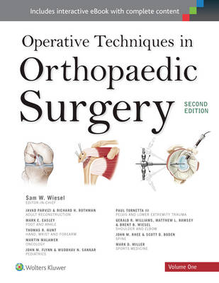 Operative Techniques in Orthopaedic Surgery 4 Volume Set (Paperback)