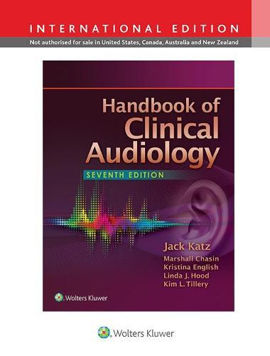 Handbook of Clinical Audiology (Hardback)