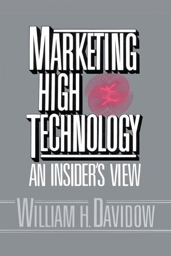 Marketing High Technology (Paperback)