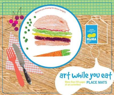 MoMA Art While You Eat Place Mats (Paperback)