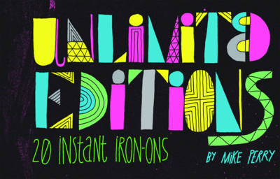 Unlimited Editions 20 Instant Iron-Ons (Stickers)