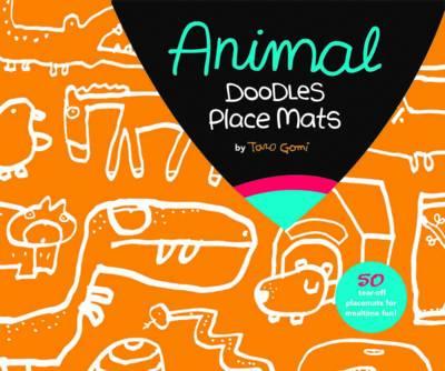 Animal Doodles Place Mats (Paperback)