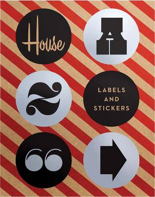 House Industries Labels & Stickers: Over 299 Typographic Stickers for Decor and Design (Stickers)