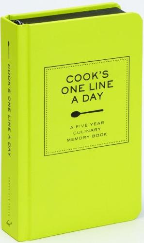Cook's One Line a Day: A Five-Year Culinary Memory Book (Hardback)
