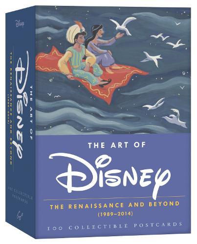 The Art of Disney 2015 Postcard Box: The Renaissance and Beyond (1989-2014)