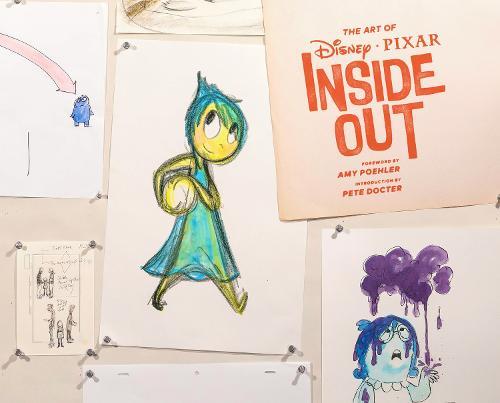 The Art of Inside Out (Hardback)