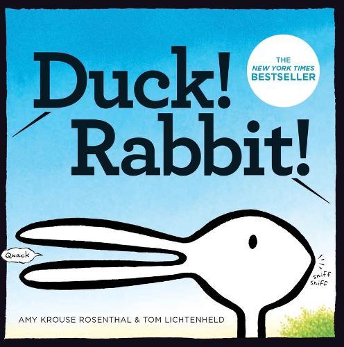Duck! Rabbit! (Board book)