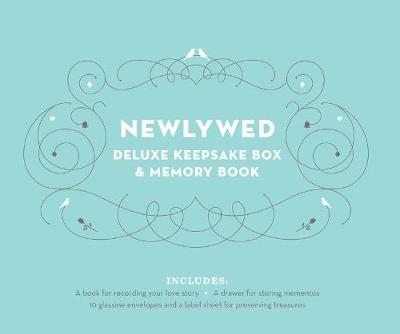 Newlywed Deluxe Keepsake Box and Memory Book