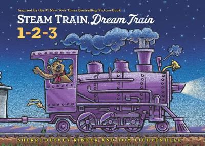 Steam Train, Dream Train Counting - Steam Train, Dream Train (Board book)