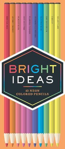 Bright Ideas Neon Pencils: 10 Colored Pencils