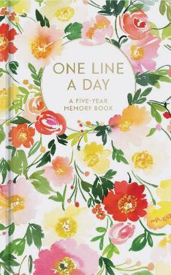 Floral One Line a Day: A Five-Year Memory Book - One Line a Day