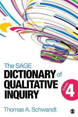 The SAGE Dictionary of Qualitative Inquiry (Paperback)