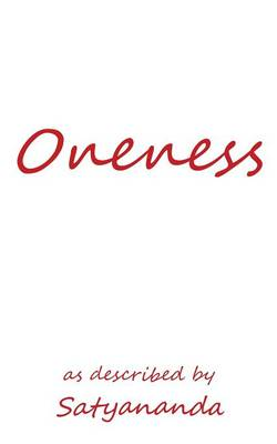 Oneness: As Described by (Paperback)
