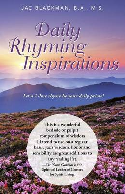 Daily Rhyming Inspirations: Let a 2-Line Rhyme Be Your Daily Prime! (Paperback)
