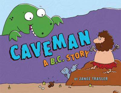 Caveman A B.C. Story (Board book)