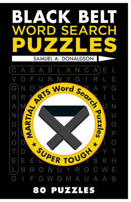 Black Belt Word Search Puzzles (Paperback)