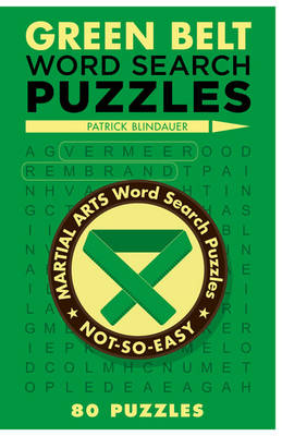 Green Belt Word Search Puzzles (Paperback)