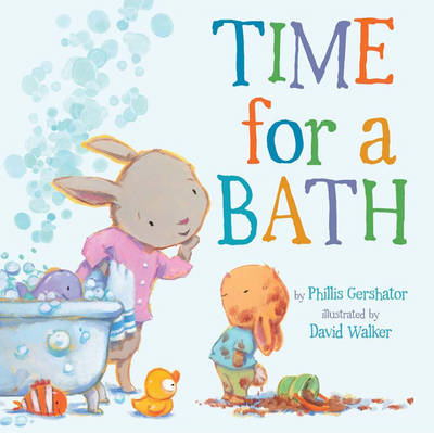 Time for a Bath Board Book (Board book)
