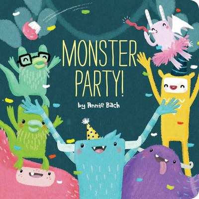 Monster Party! (Board book)