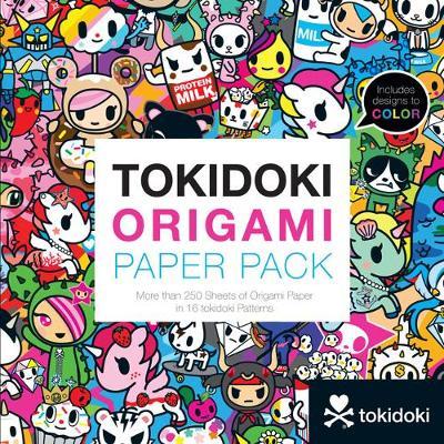 tokidoki Origami Paper Pack: More than 250 Sheets of Origami Paper in 16 tokidoki Patterns (Paperback)