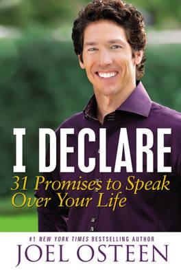 I Declare: 31 Promises to Speak Over Your Life (Paperback)