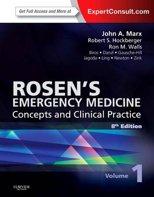 Rosen's Emergency Medicine - Concepts and Clinical Practice, 2-Volume Set: Expert Consult Premium Edition - Enhanced Online Features and Print (Hardback)