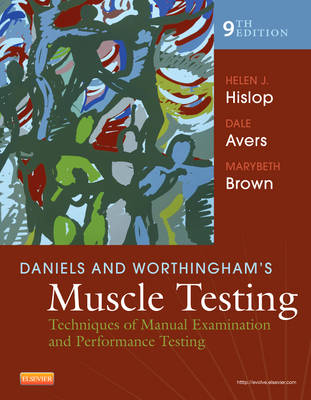 Daniels and Worthingham's Muscle Testing: Techniques of Manual Examination and Performance Testing (Spiral bound)