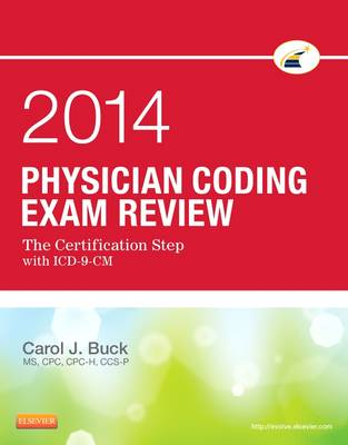 Physician Coding Exam Review 2014: The Certification Step with ICD-9-CM (Paperback)