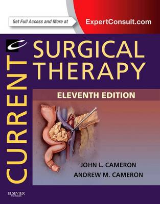 Current Surgical Therapy: Expert Consult - Online and Print - Current Therapy (Hardback)