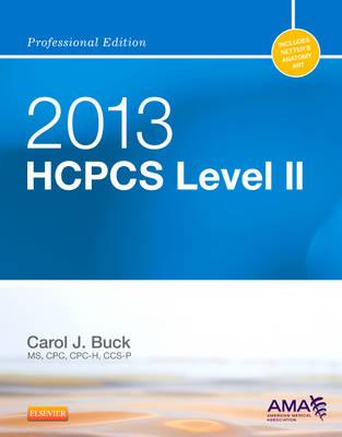 HCPCS 2013: Level II: Professional Edition (Spiral bound)