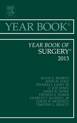 Year Book of Surgery 2013 - Year Books 2013 (Hardback)